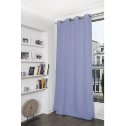 Cortina Blackout Lisa Azul Lavanda MC451