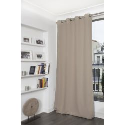 Cortina Térmica e Blackout Taupe MC740
