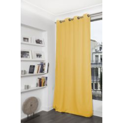 Cortina Blackout Lisa Amarelo MC2194