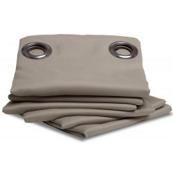 Cortina Blackout Antichamas Taupe MC740