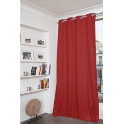 Cortina 100% Blackout Dream Vermelho MC310